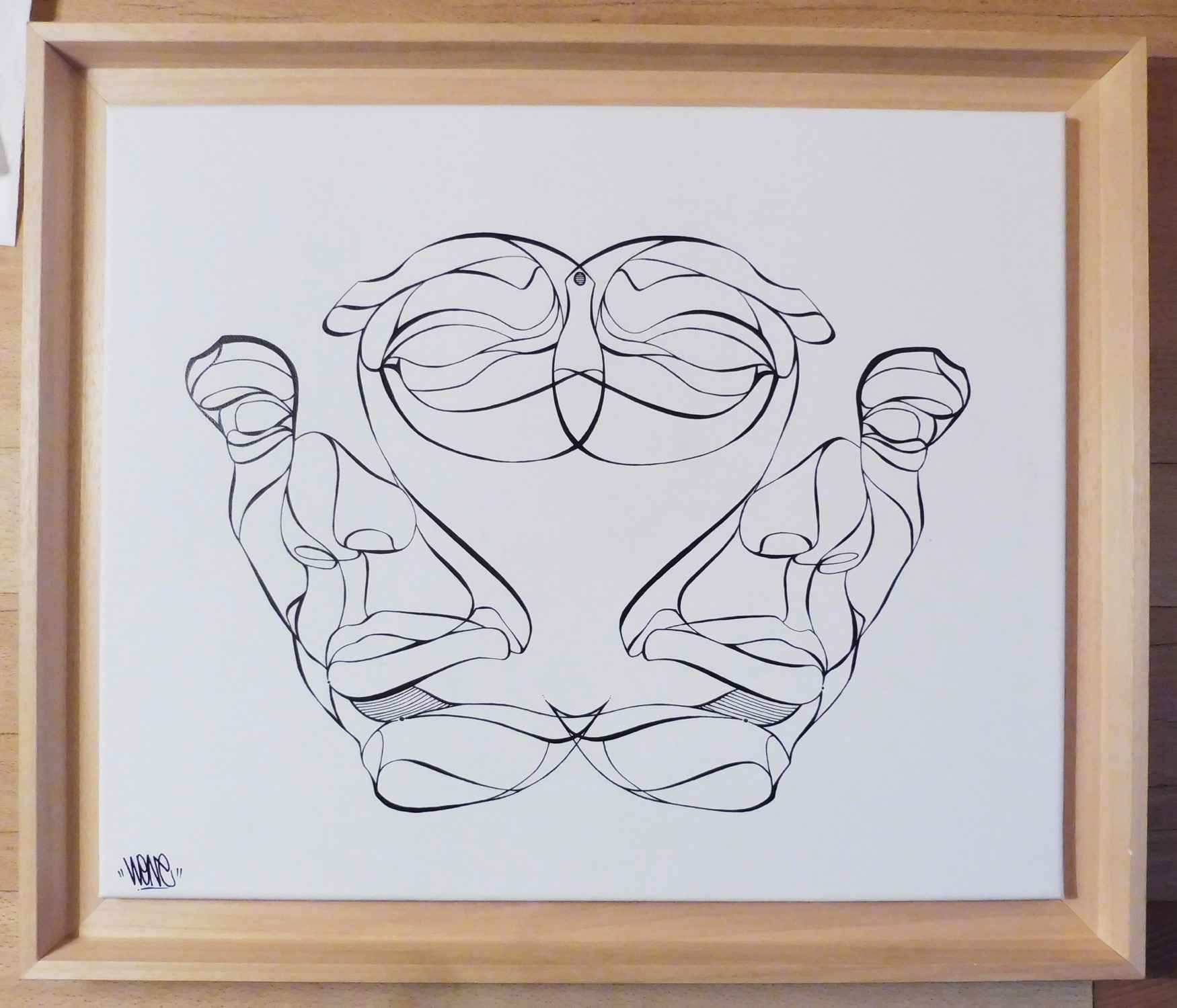 Rorschach by   WONE - Masterpiece Online