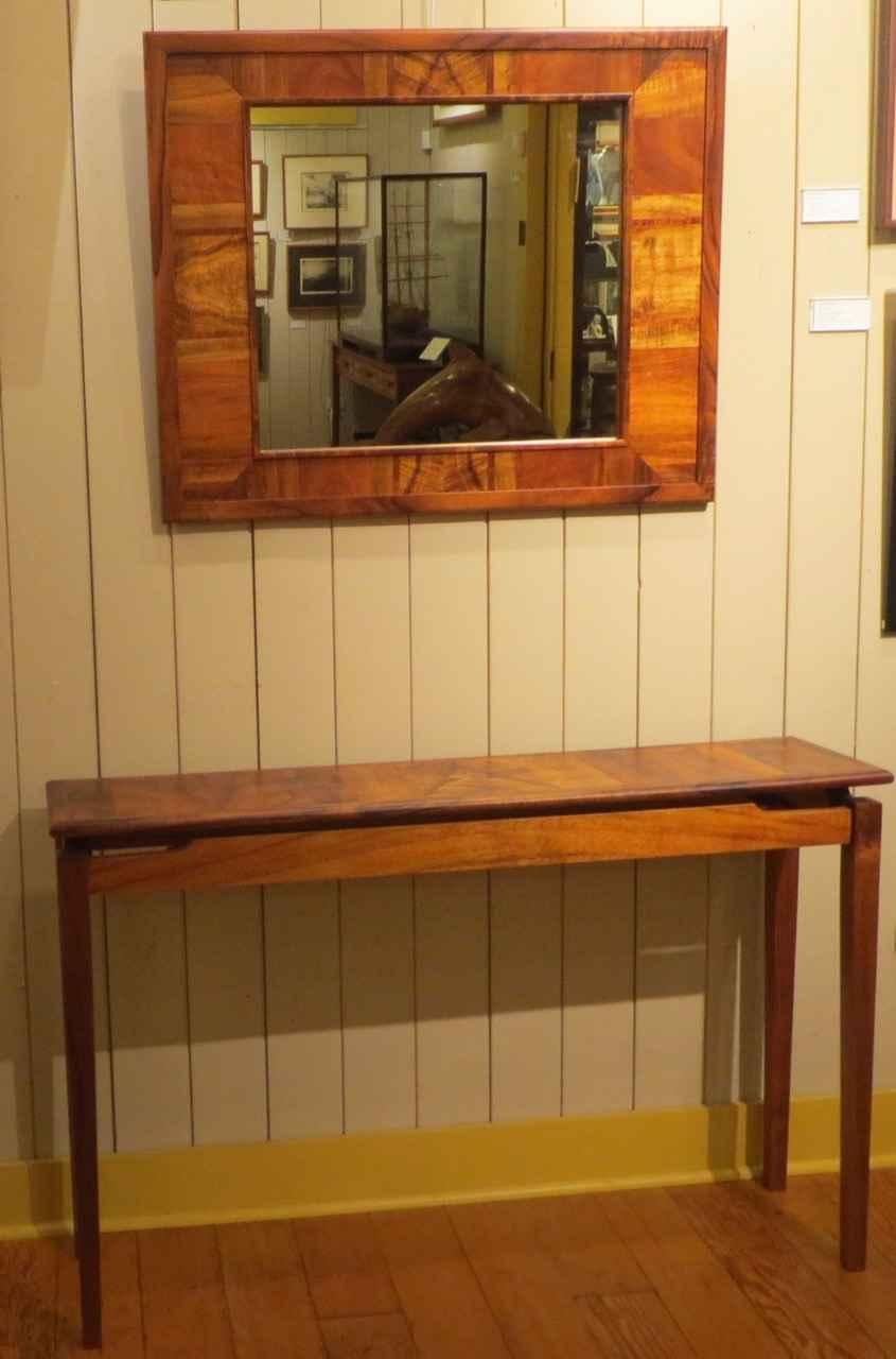 Koa Mirror by Mr. Richard Cunningham - Masterpiece Online