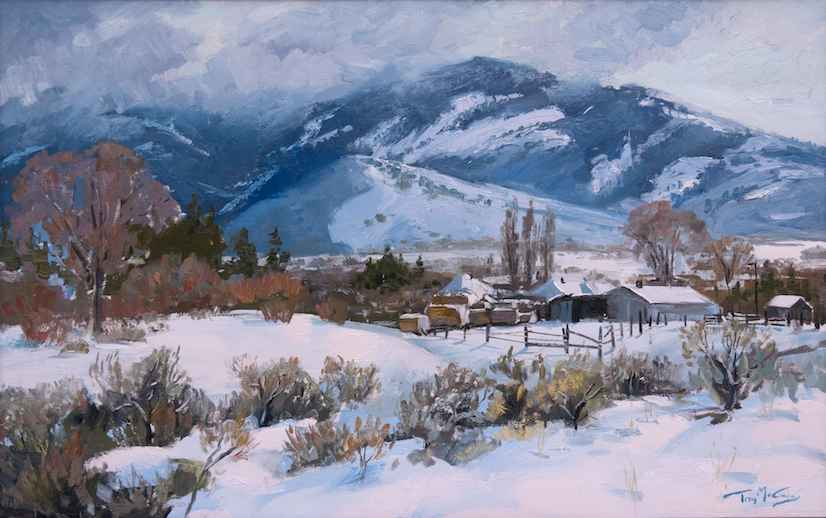 Deep In Winter by  Trey McCarley - Masterpiece Online