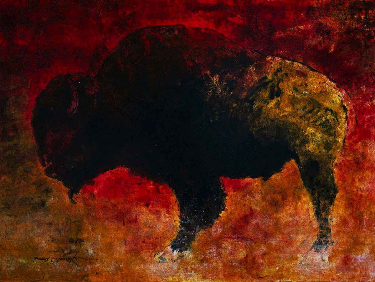Buffalo  by  Richard Harrington