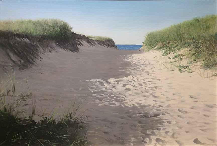 Walk to the Beach by  Steve Mills - Masterpiece Online