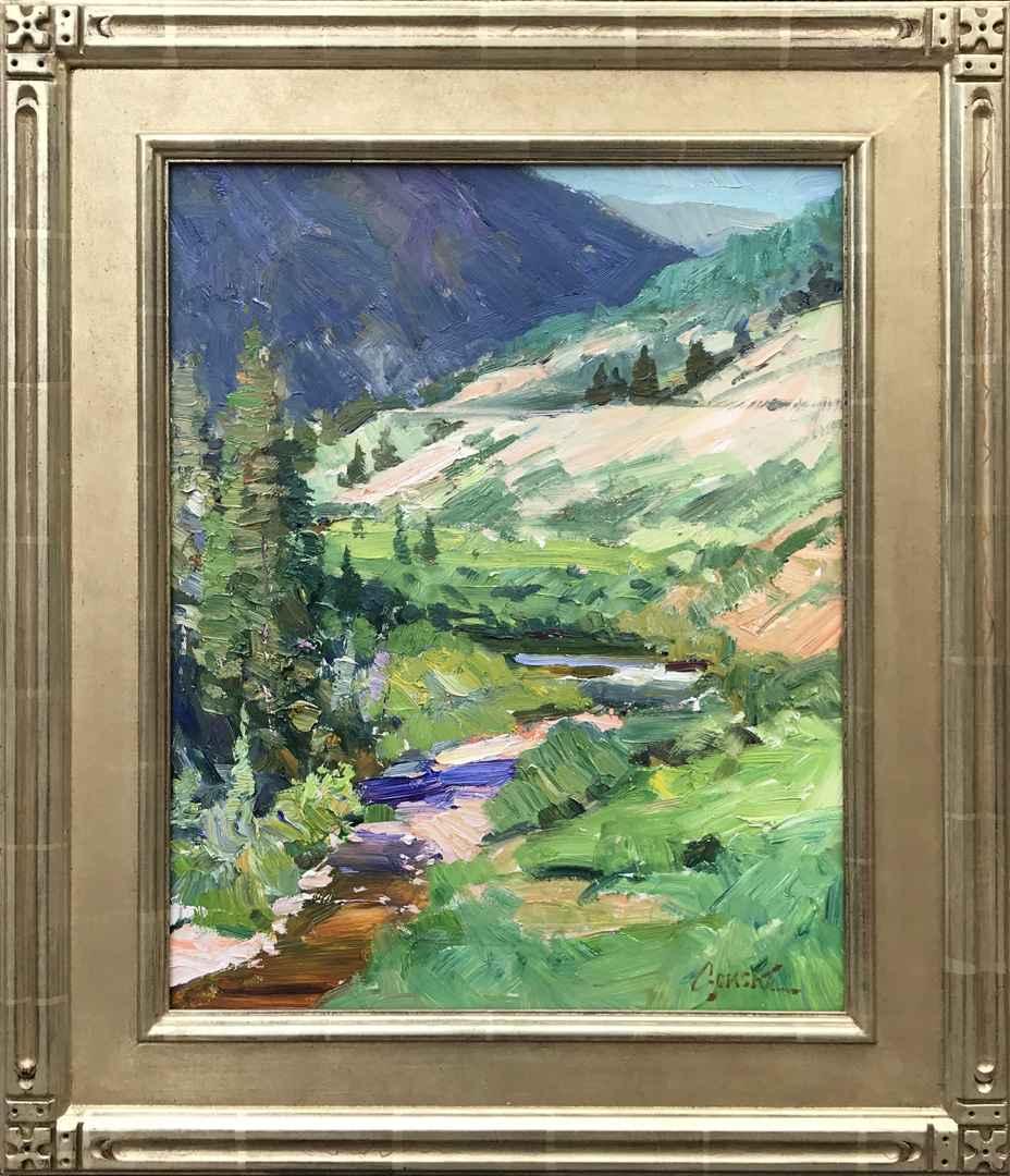 Mid July on Coal Creek by Mr. Walt Gonske - Masterpiece Online