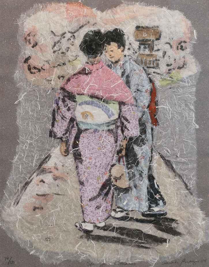 Spring Kimonos by  Sarah Brayer - Masterpiece Online
