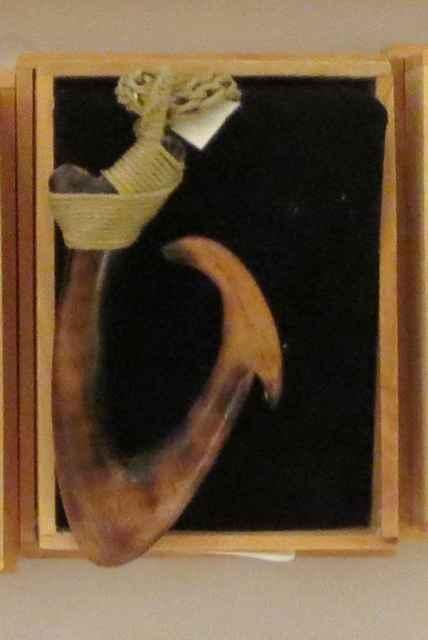 Koa Fish Hook, large,... by Mr. Mac Dunford - Masterpiece Online