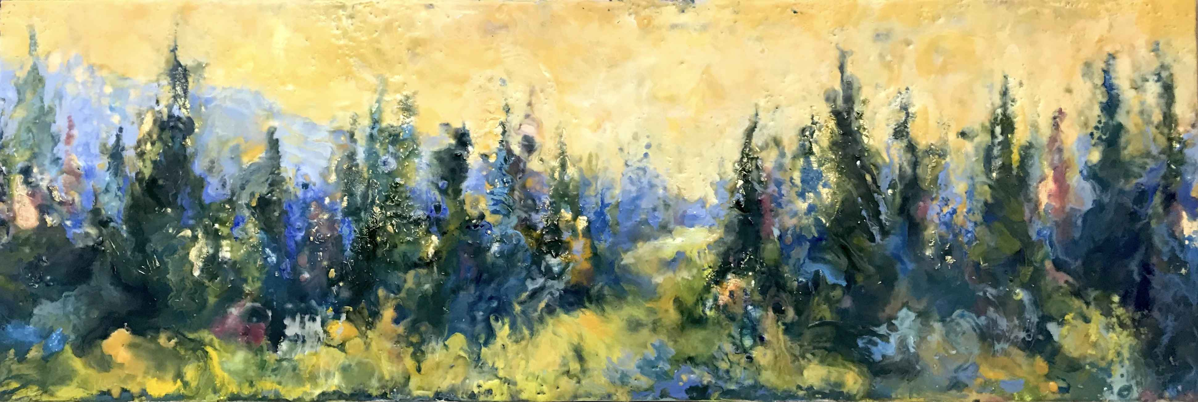 The Forest is My Happ... by  Kathy Bradshaw - Masterpiece Online