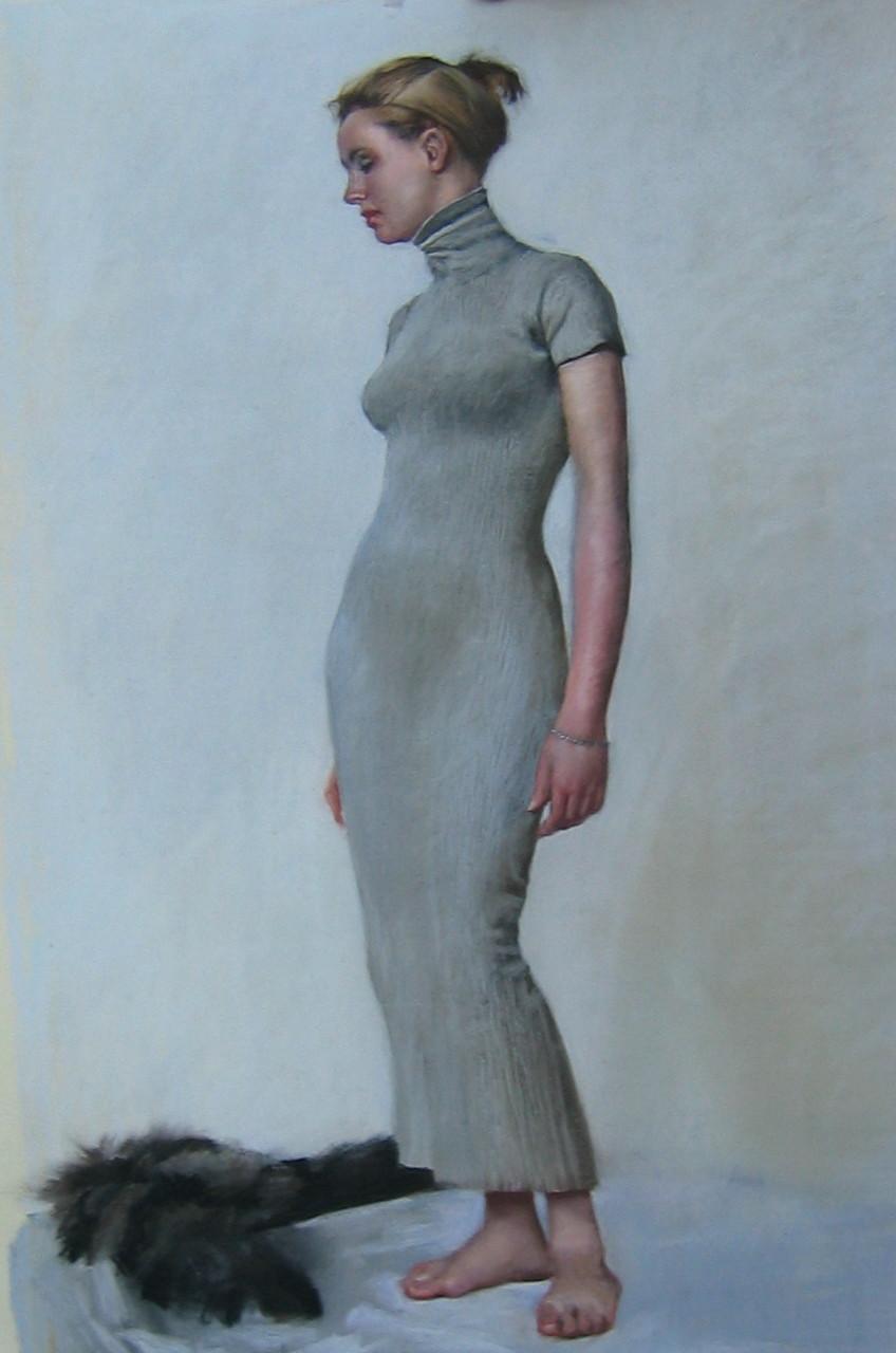 Olya by  Daud Akhriev - Masterpiece Online