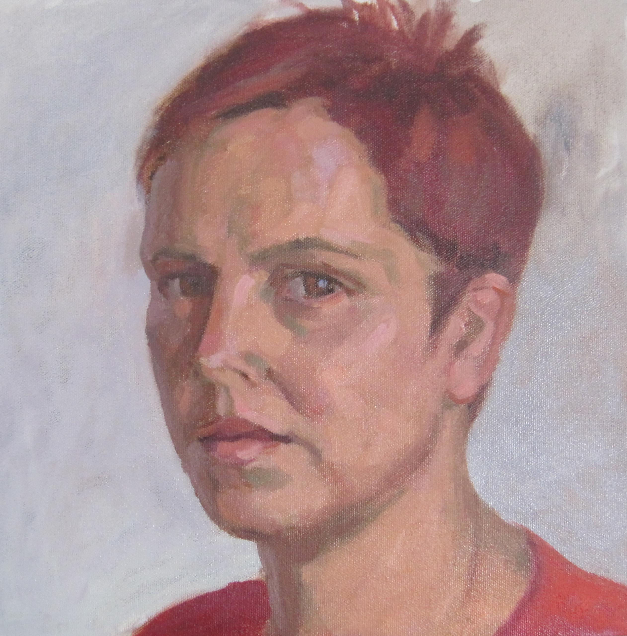 Olvera Self Portratit by  Melissa Hefferlin - Masterpiece Online