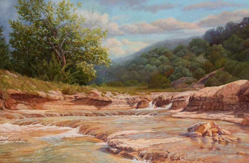 Cow Creek by  June Dudley - Masterpiece Online