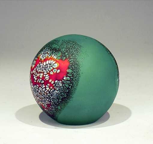 Blue/Green Stone Pape... by  David Royce - Masterpiece Online