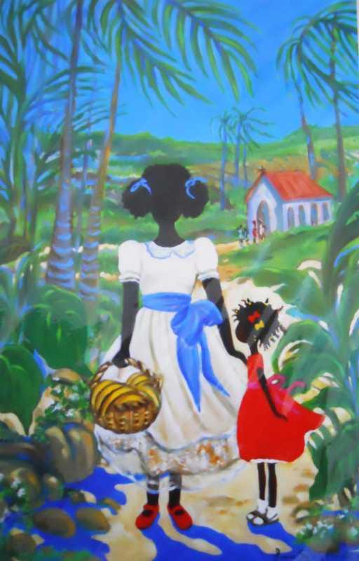 Banana Pick by Ms. Janice Sylvia Brock - Masterpiece Online