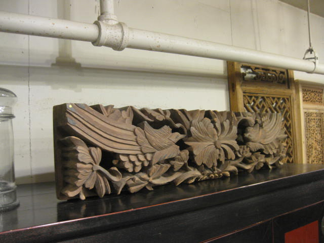 CHINESE CARVED PANEL by    - Masterpiece Online