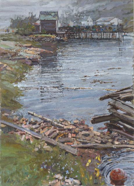 Rainy Season by  Daud Akhriev - Masterpiece Online