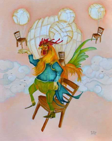 Leghorn Lift Off by  Tisha Weddington - Masterpiece Online