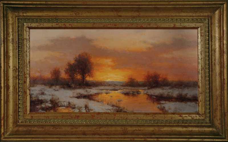 December Sky by  Dick Heichberger - Masterpiece Online