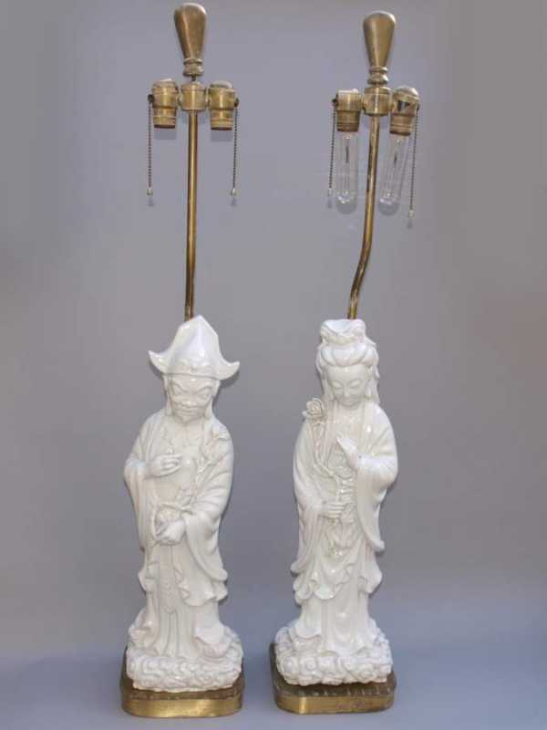 Pair of Blanc de Chin... by  None None - Masterpiece Online