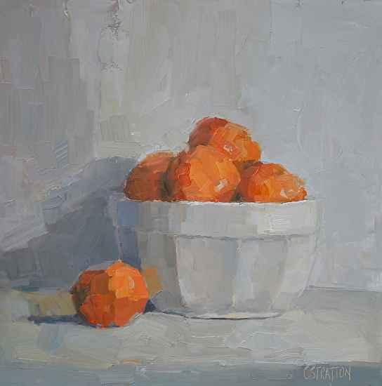 Clementine in White B... by  Clare Stratton - Masterpiece Online
