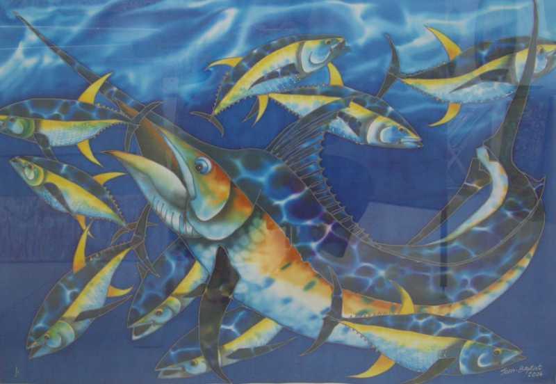 Deep Blue by Mr. Daniel Jean Baptiste - Masterpiece Online