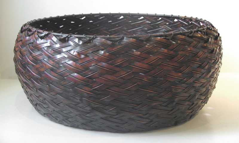 Woven Copper Basket by  XEN  - Masterpiece Online