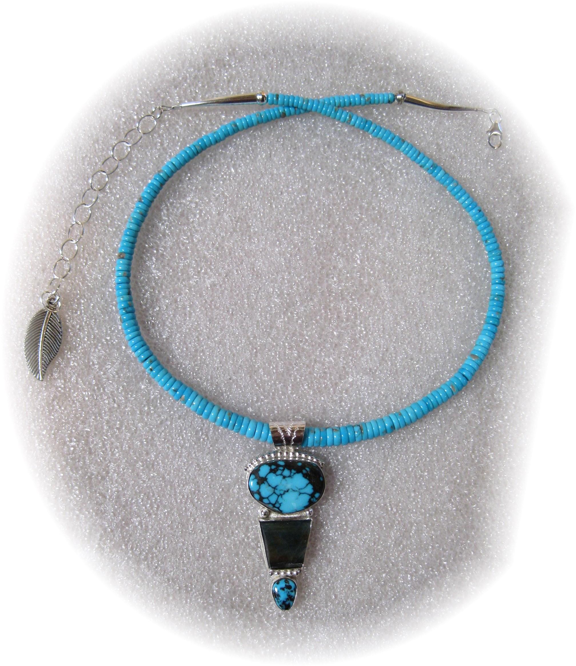 N151 Bisbee Turquoise... by  Michael Redhawk - Masterpiece Online