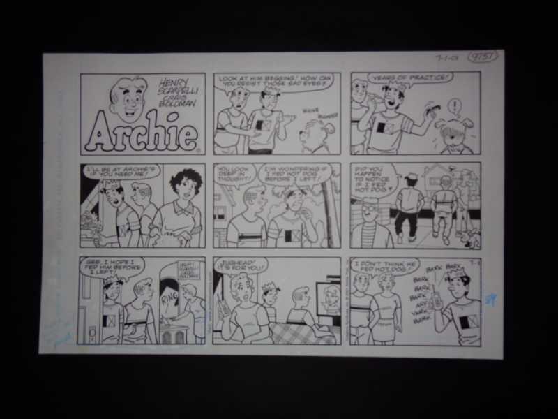 7-01-01   Archie Sund... by  Henry Scarpelli - Masterpiece Online
