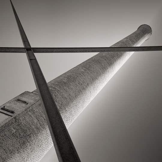 Smokestack, Fall Rive... by  David Fokos - Masterpiece Online