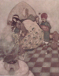 Cook  by  Edmund Dulac