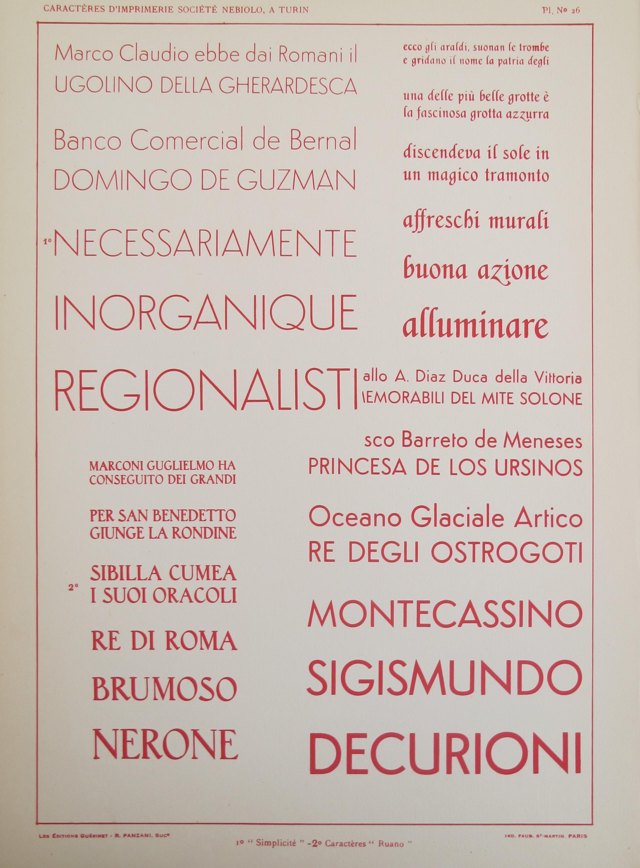 Typography - Vignette... by  Societe Nebiolo  - Masterpiece Online