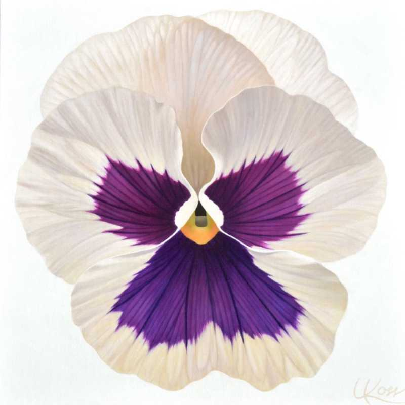 Pansy 21 by  Laurie Koss - Masterpiece Online