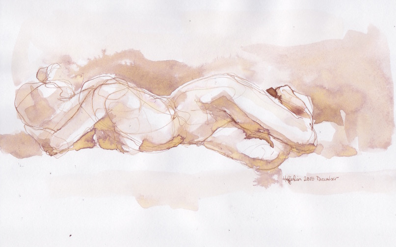 Figurative Sketch: 11 by  Melissa Hefferlin - Masterpiece Online