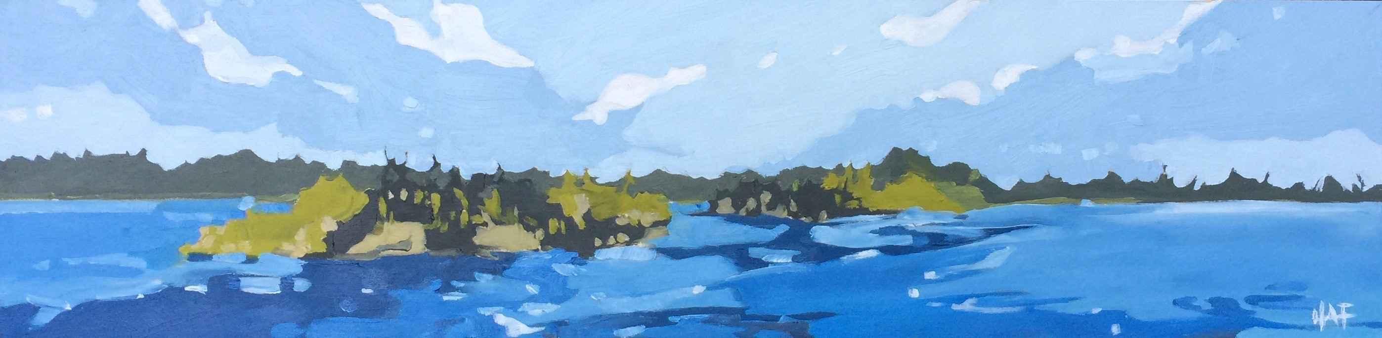 Island Gold by  Holly Ann Friesen - Masterpiece Online