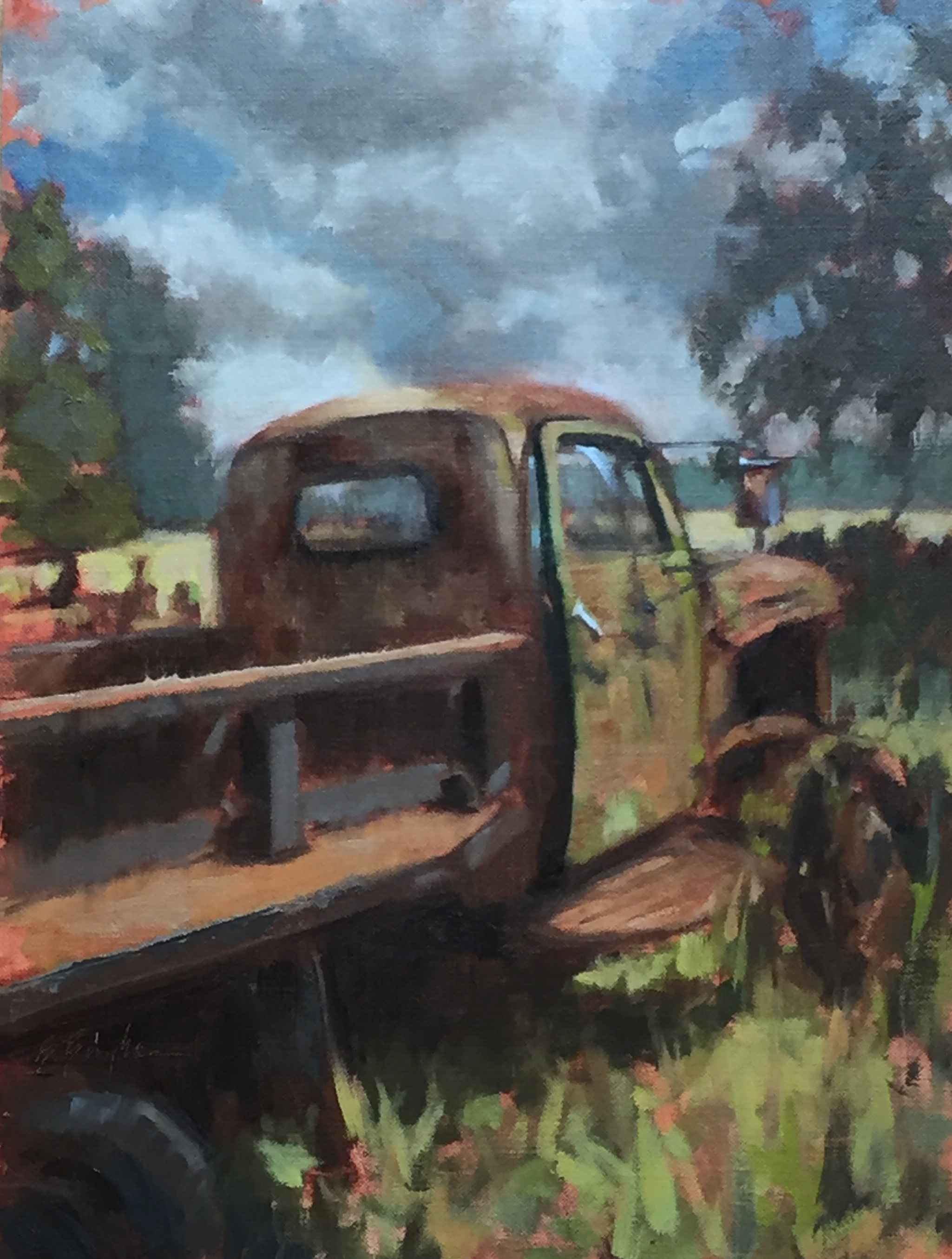Quitting Time by  Bruce Bingham - Masterpiece Online