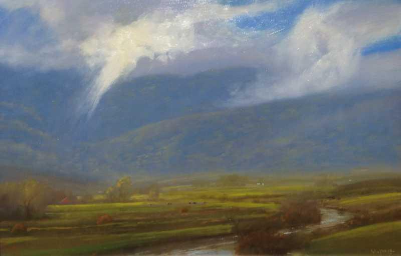 Rain Shadows by  Raymond L. Knaub - Masterpiece Online