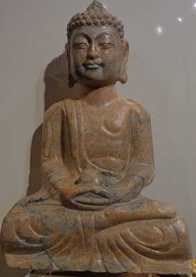 Sitting Buddha,H25cm,... by  Haixiang  - Masterpiece Online