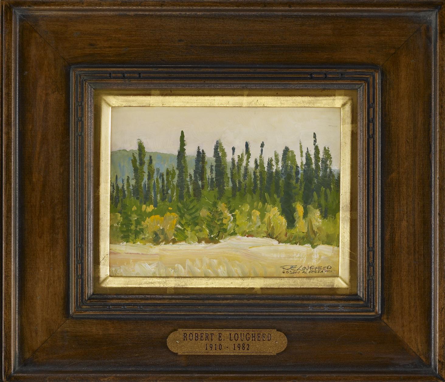 Woods of Edson Alberta by  Robert Lougheed - Masterpiece Online