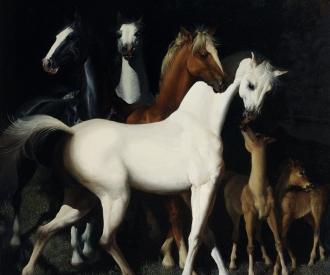 White Horse  by  Gennady Spirin