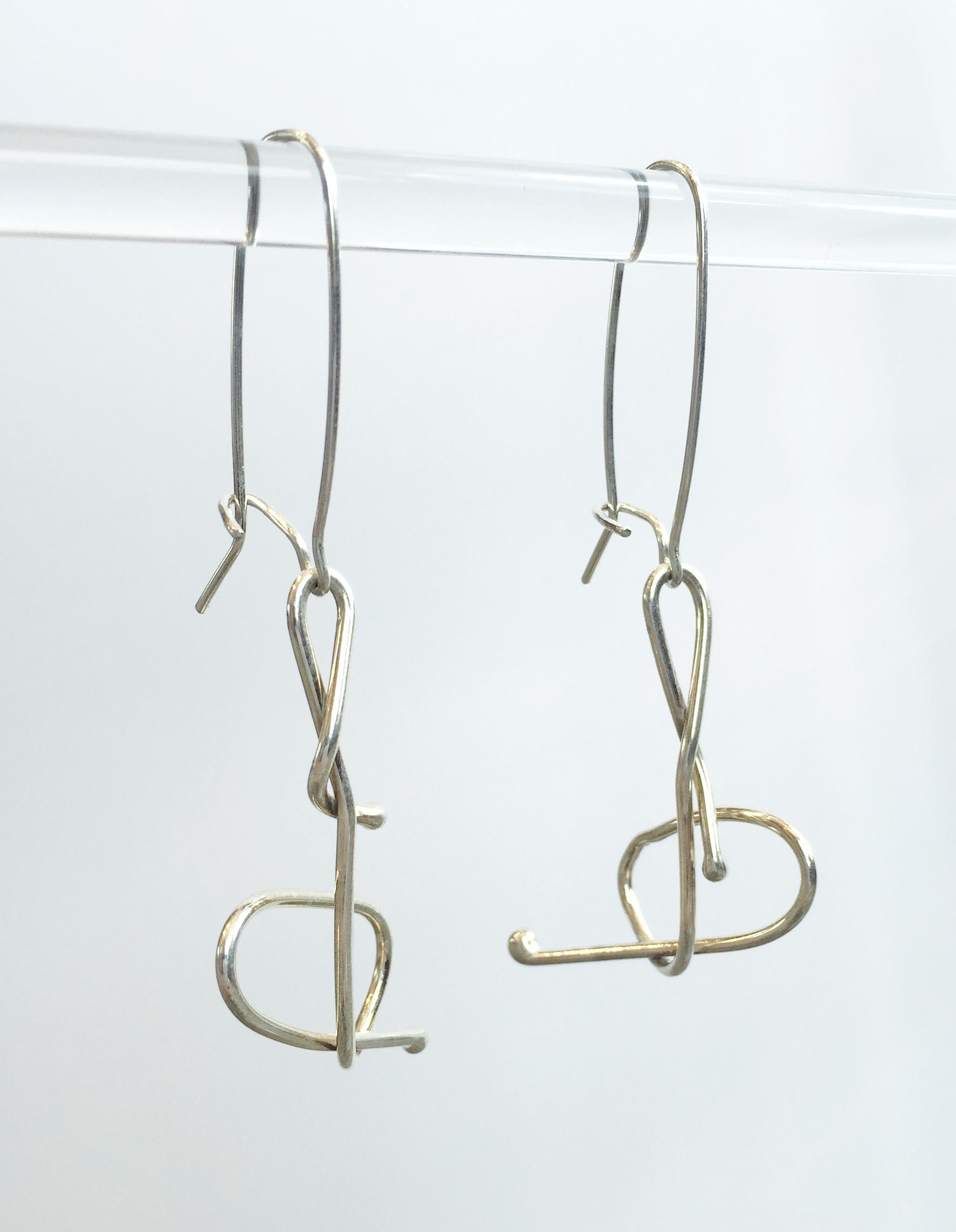 Whimsical Earrings #1 by  Dorit Herlinger - Masterpiece Online