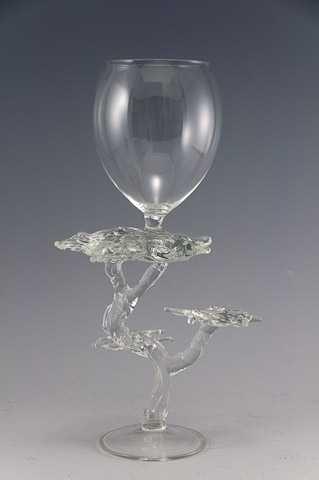 Goblet/Monterey Cypre... by  Bandhu Scott Dunham - Masterpiece Online