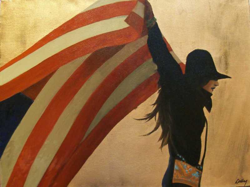 Born Free Original by  David DeVary - Masterpiece Online