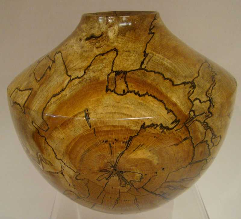 KR1159 Spalted Beech ... by  Keith Rueckert - Masterpiece Online