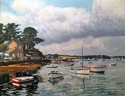 Ile aux Moines Marie ... by   Margueray  - Masterpiece Online