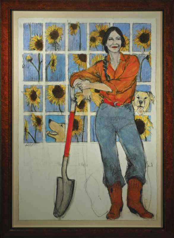Sunflowers by  Donna Howell-Sickles - Masterpiece Online