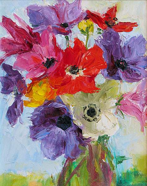 Anemonies by  Dale Payson - Masterpiece Online