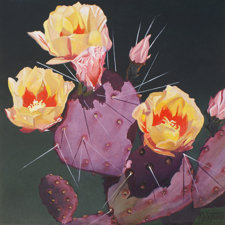 Yellow Prickly Pear B... by  Rafe Terry - Masterpiece Online