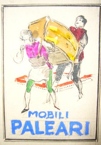 Mobili Paleari Maquet... by  Luciano Achille Mauzan - Masterpiece Online