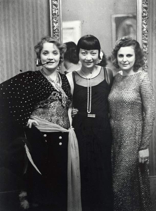 Marlene Dietrich, Anna May Wong and Leni Riefenstahl by Alfred ...