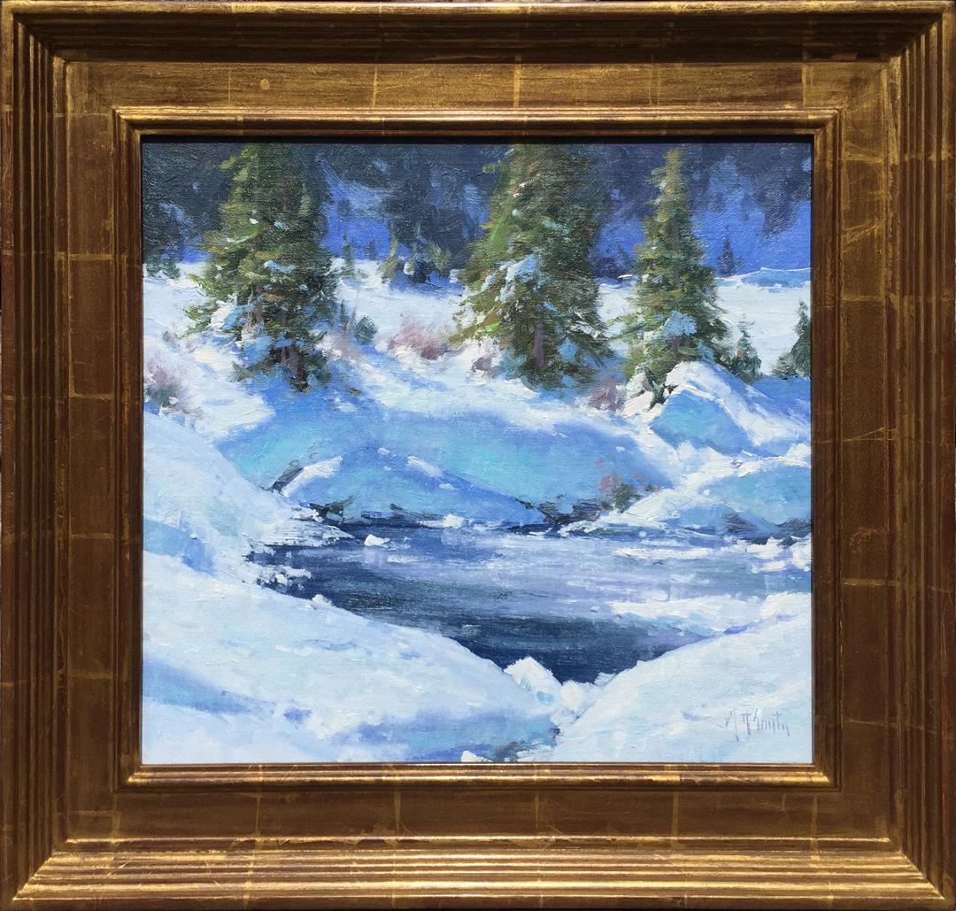 Mill Creek Ice by Mr. Matt Smith - Masterpiece Online