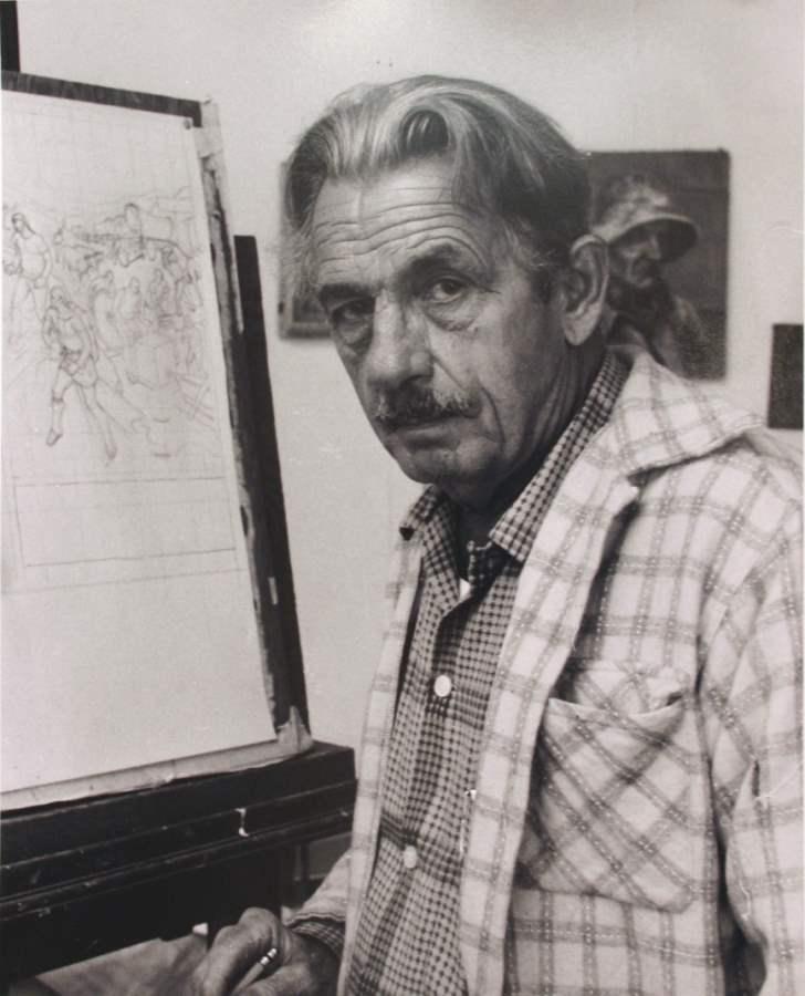 Thomas Hart Benton, 1... by  Alfred Eisenstaedt - Masterpiece Online