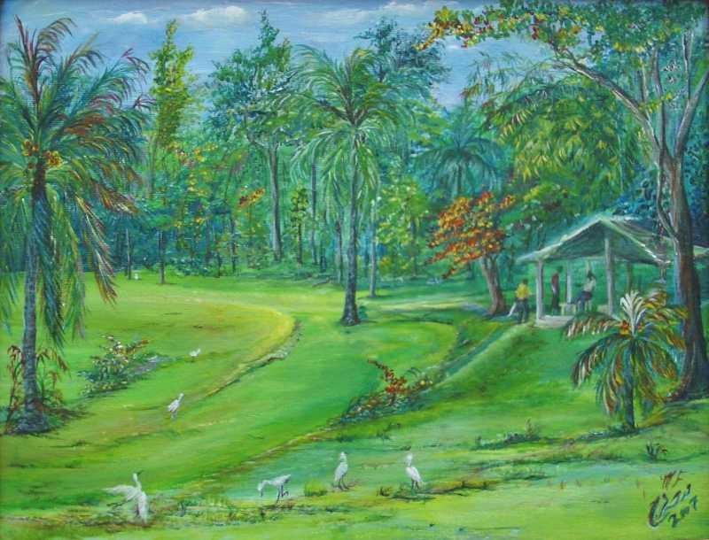 Botanic Gardens by Ms. Madiha Farag-Miller - Masterpiece Online