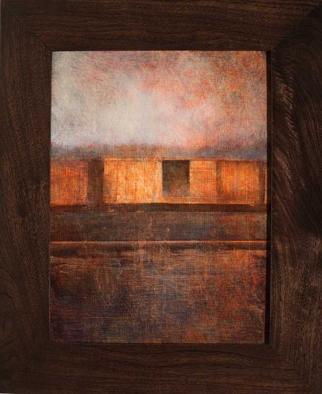 Boxcars in Gloaming by  Charlie Hunter - Masterpiece Online