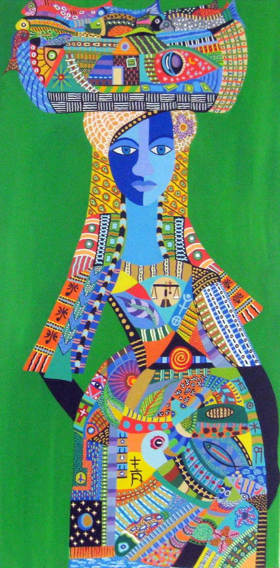 Ester The Fisherwoman by Ms Janice Elizabeth Stewart - Masterpiece Online